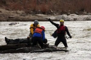 Swiftwater Rescue & EMS Training