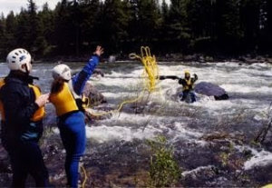 Swiftwater Rescue Class